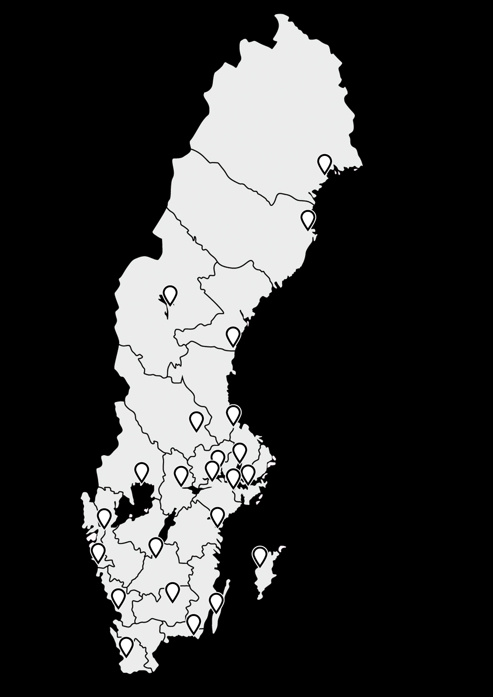 23 kulturministrar bjuder in till samtidiga presskonferenser på gator och torg över hela Sverige den 10 februari